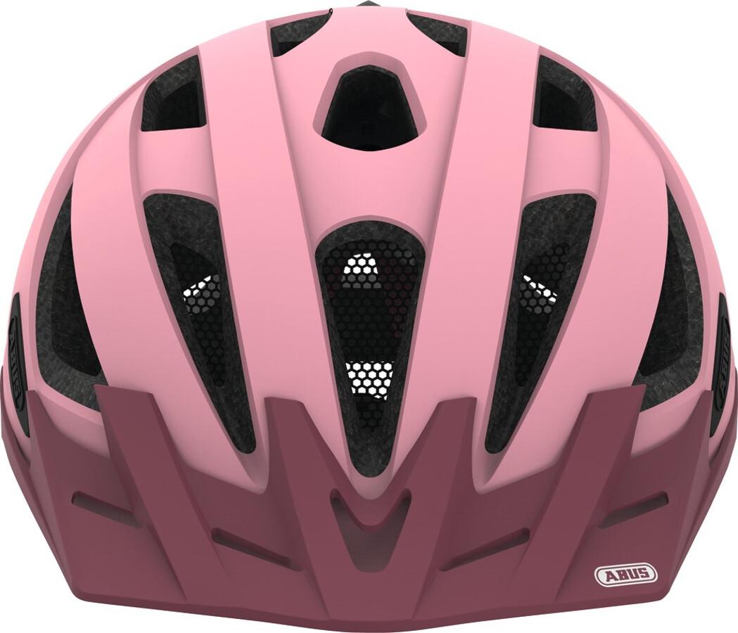 abus urban i 2 0 casco per bici rosa su addnature. Black Bedroom Furniture Sets. Home Design Ideas